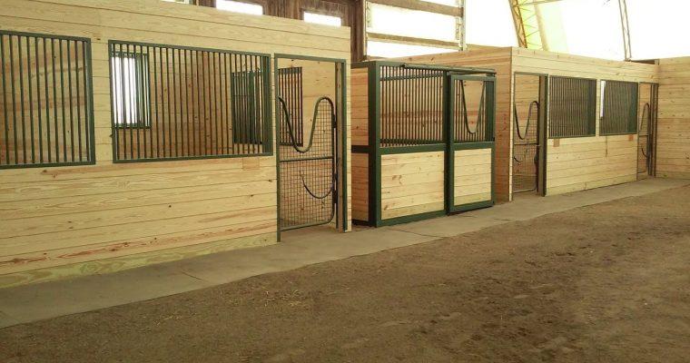 Standard Horse Stalls