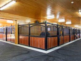 Freestanding Stall